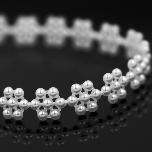 Plastik Perlband