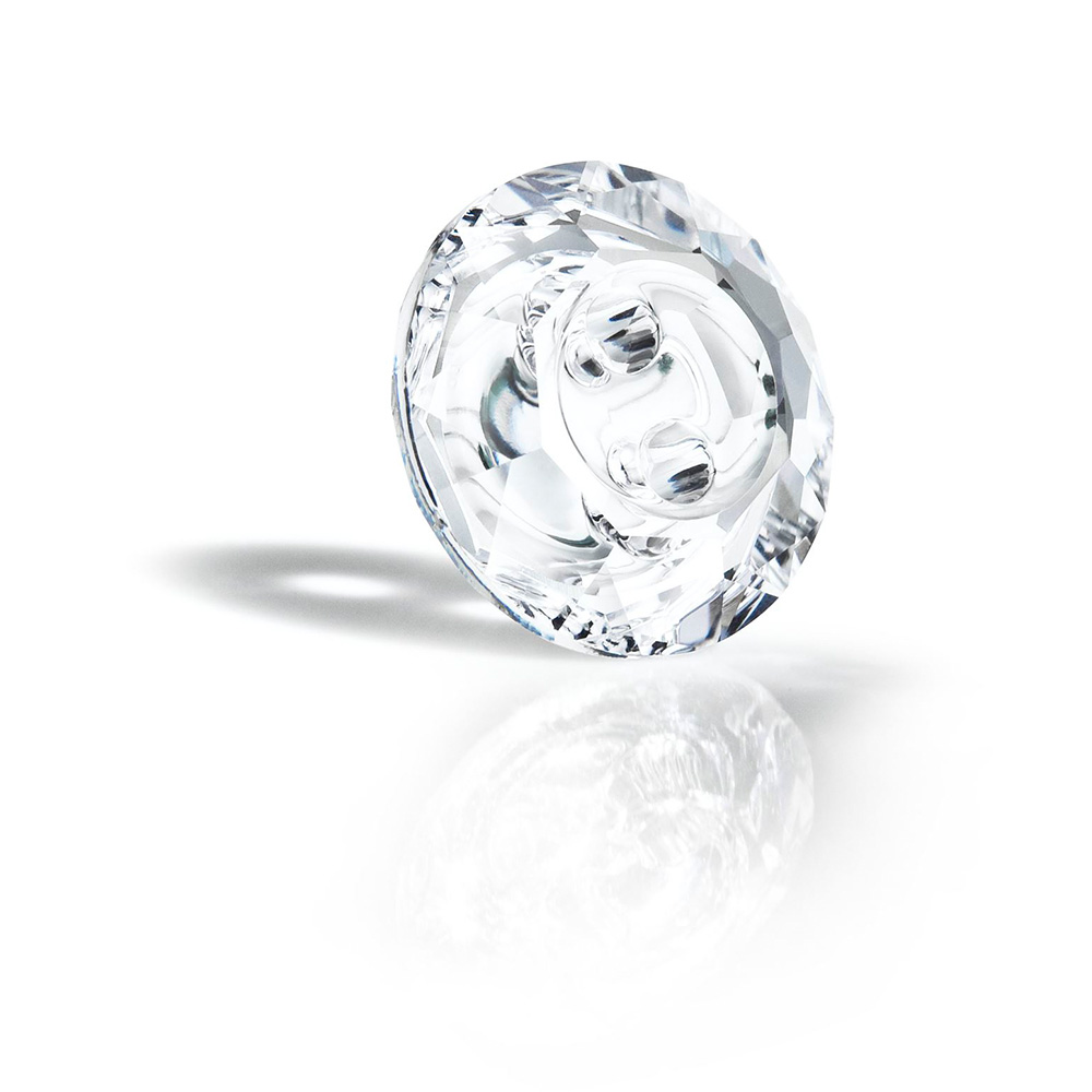 Preciosa Crystal Button
