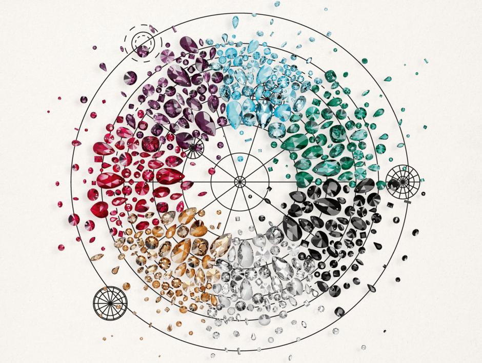 Swarovski Colour Wheel